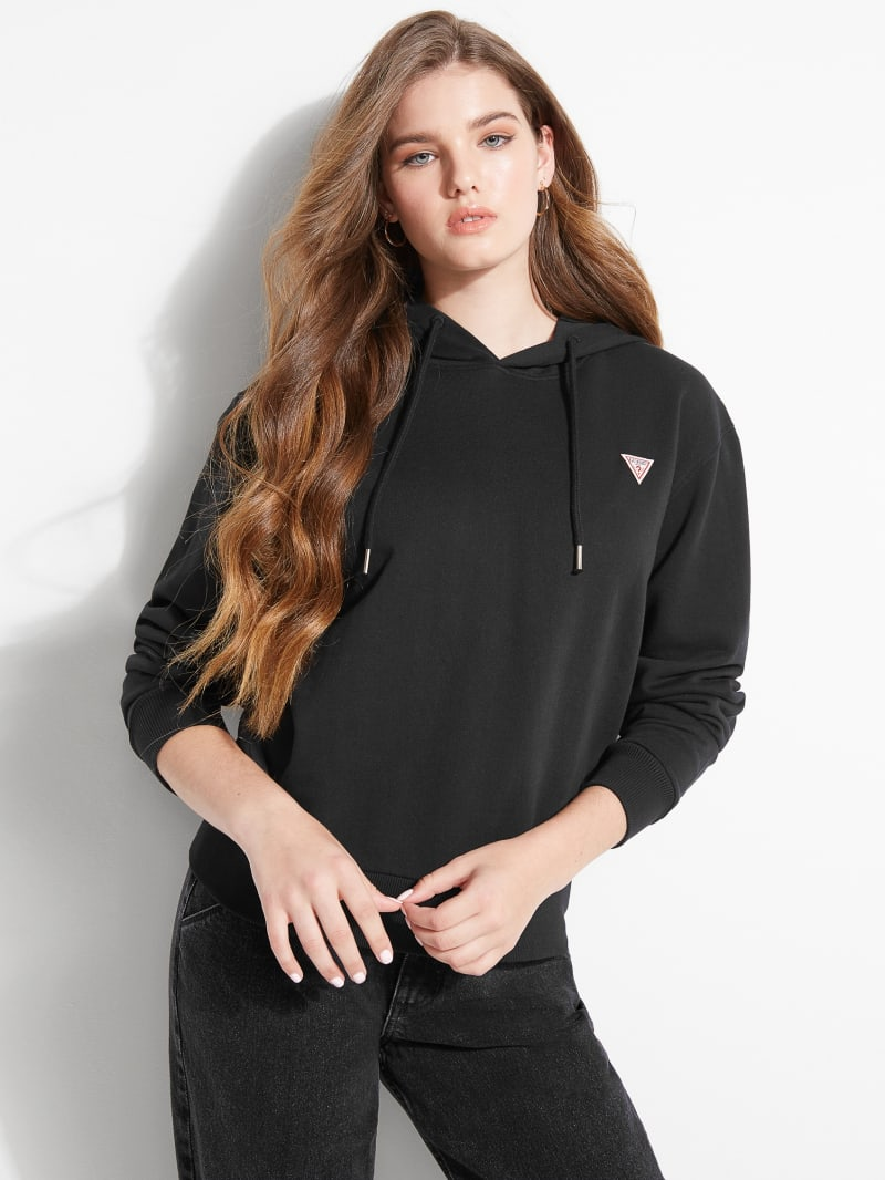 GUESS Logo Patch Hoodie