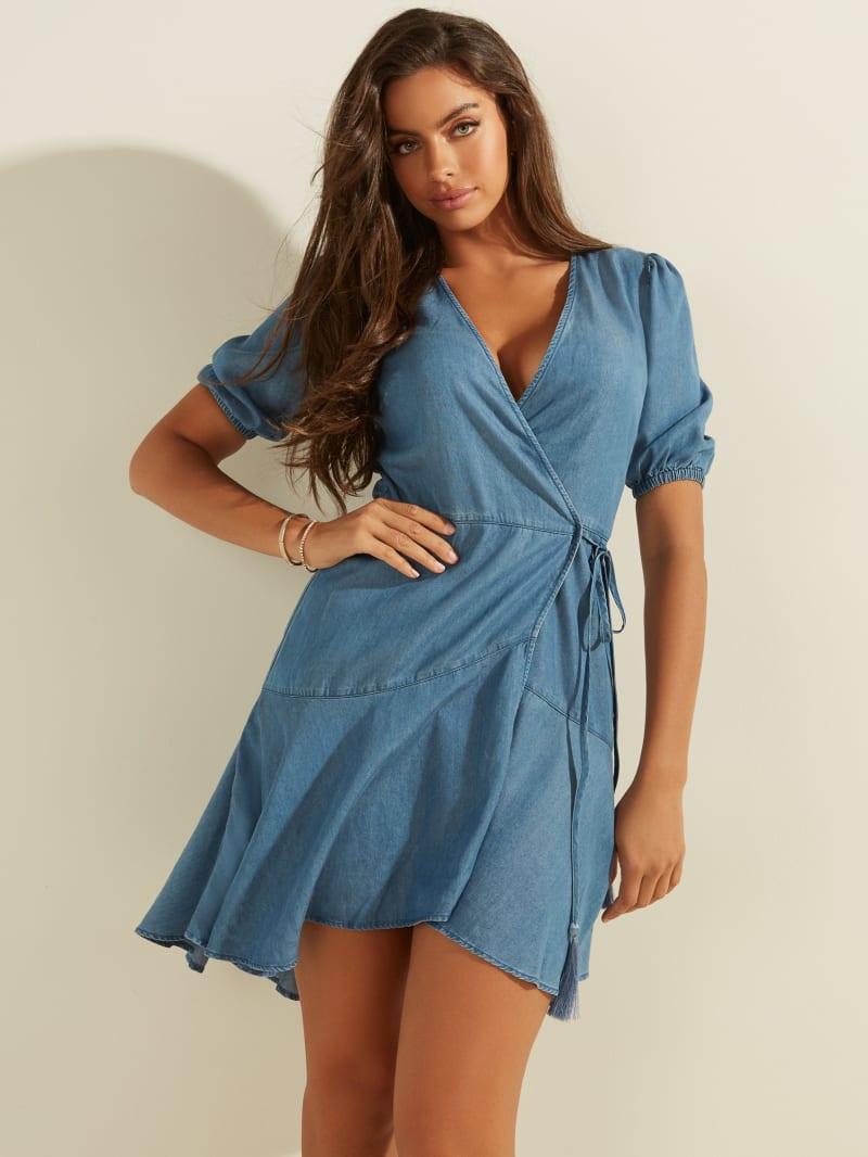Candy Wrap Dress