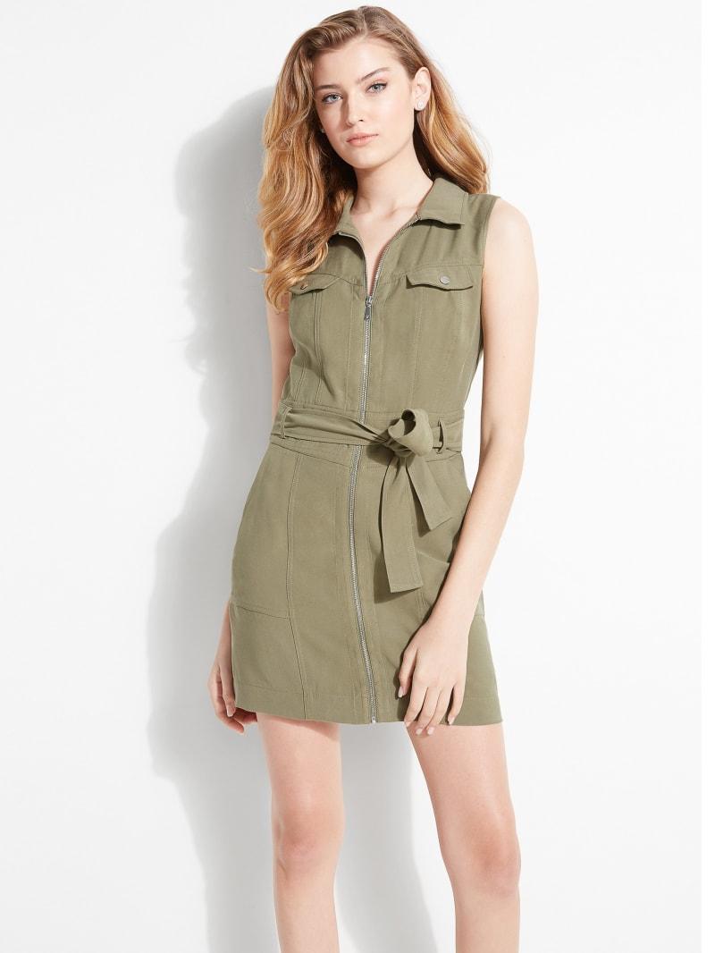 Aja Cargo Mini Dress