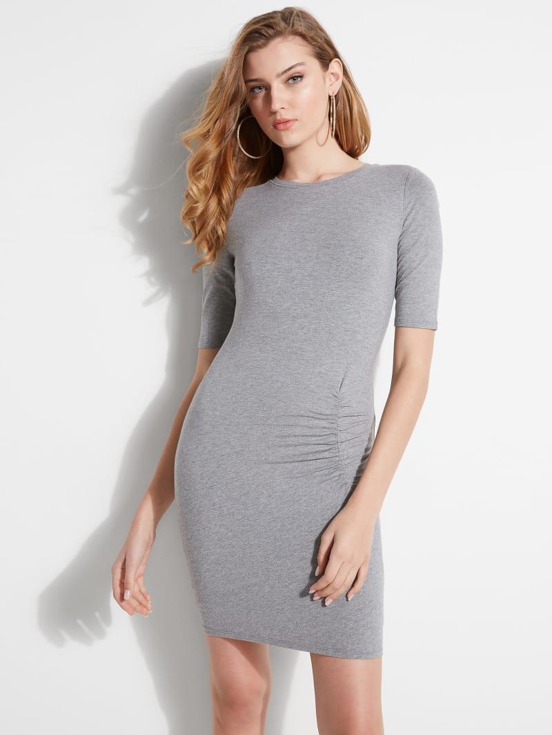 Eco Arjean Half-Sleeve Mini Dress