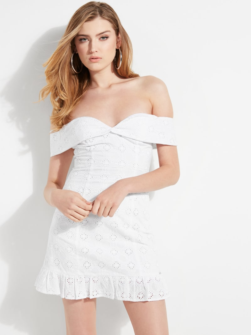Eco Krin Off-The-Shoulder Dress