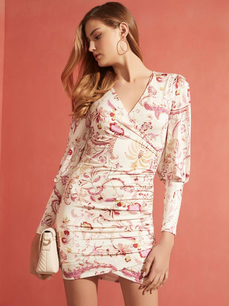 Isidora Long-Sleeve Floral Dress