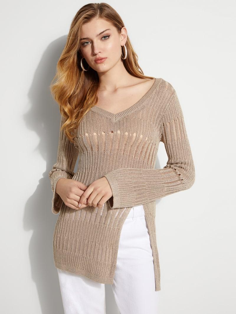 Paradise Lurex Sweater Tunic