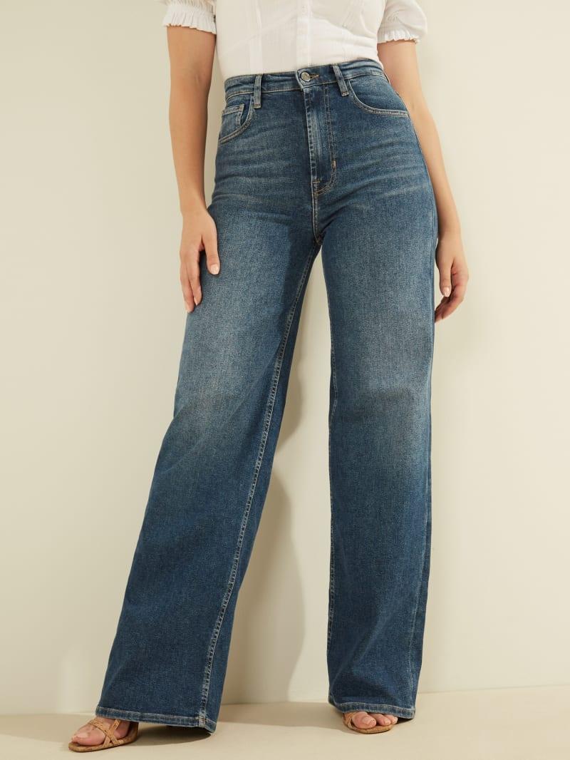 Super-High Wide Leg Jeans