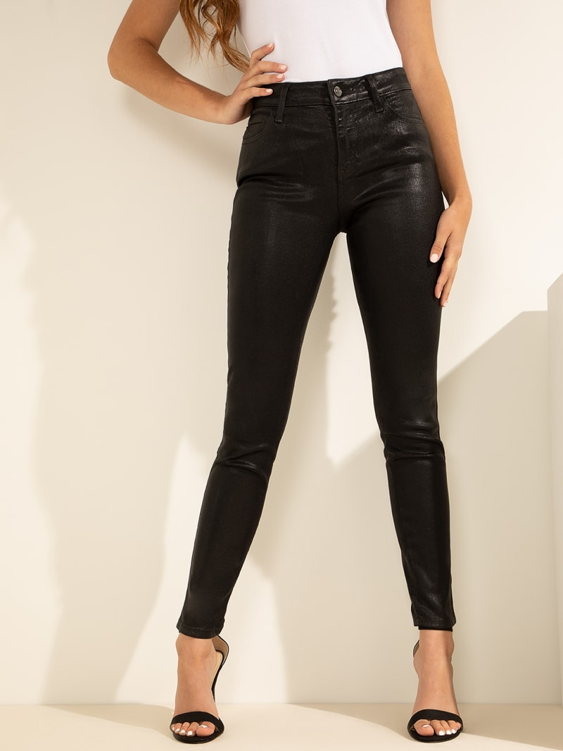 Coated Sexy Curve Jeans