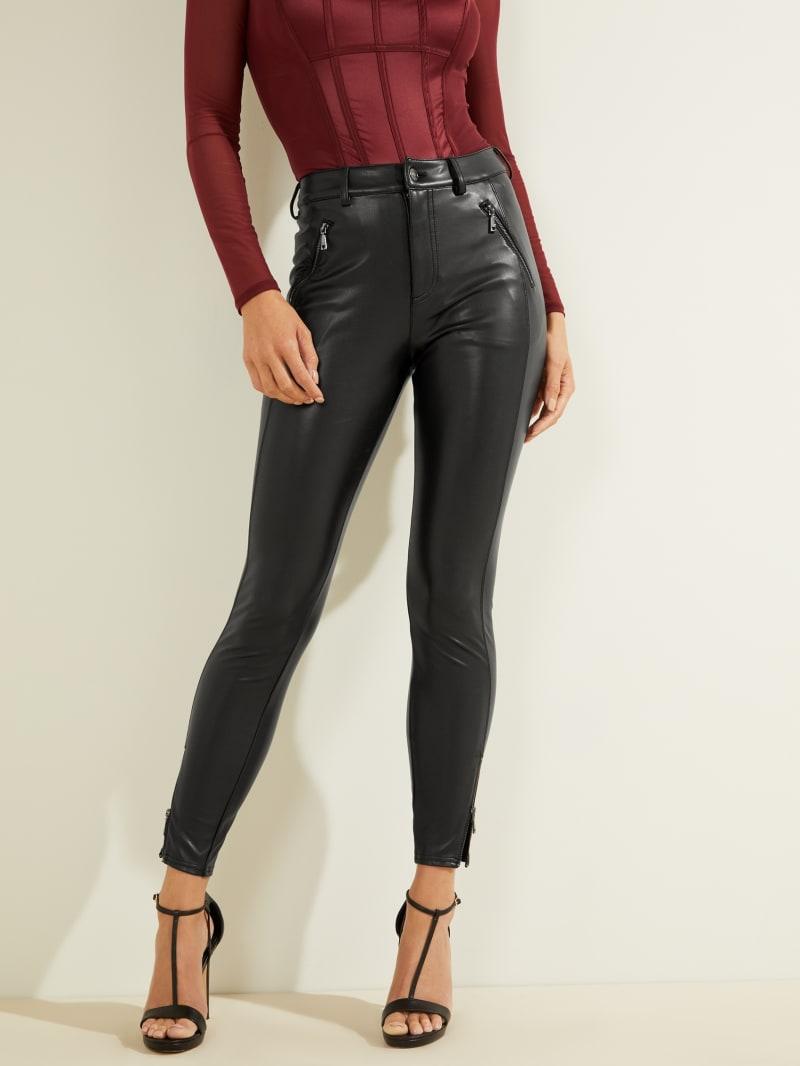 Soto Faux-Leather Pants