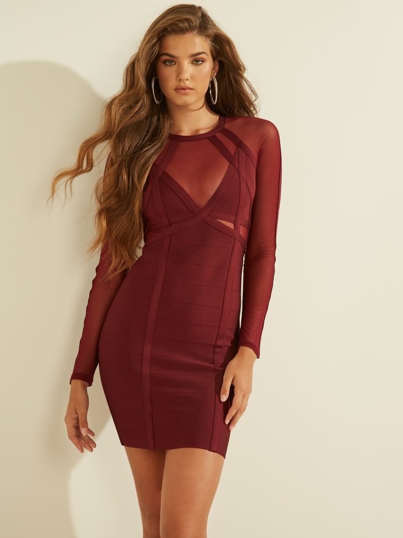 Karina Mesh Bandage Dress