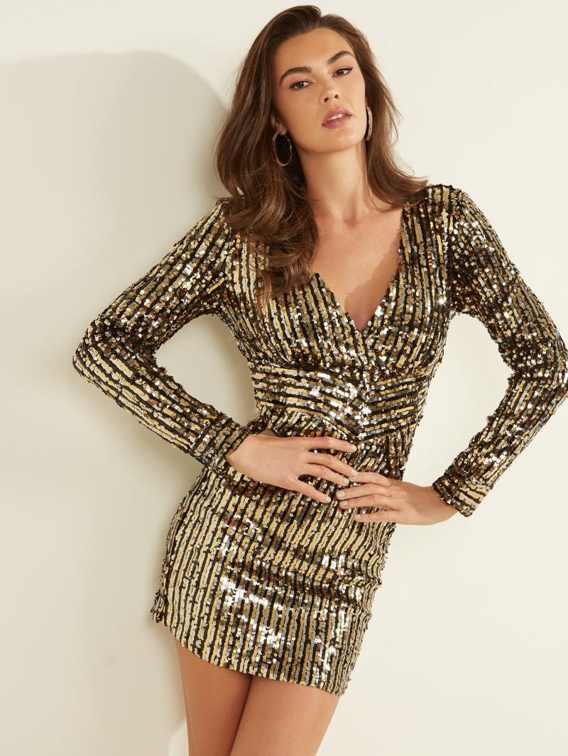 Alexandra Sequin Dress