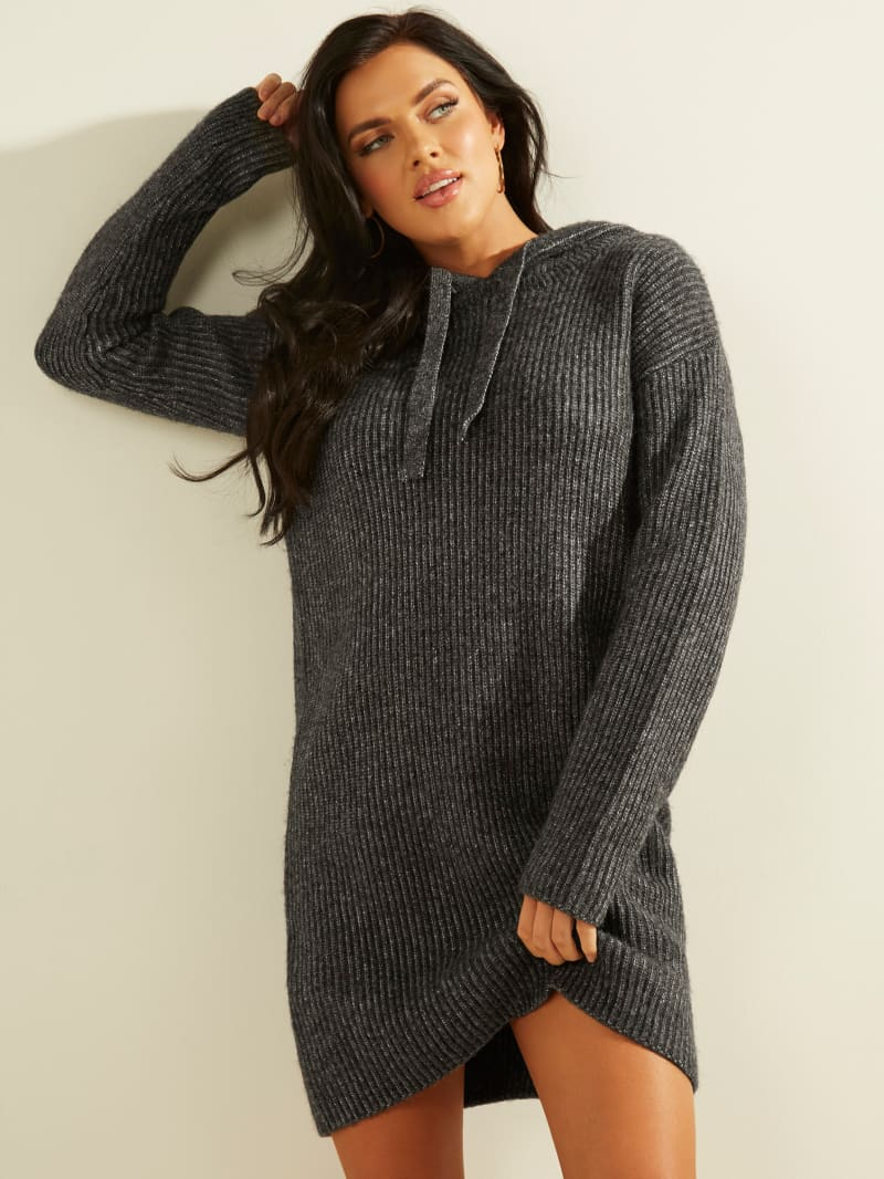 Kira Ribbed Sweater Dress