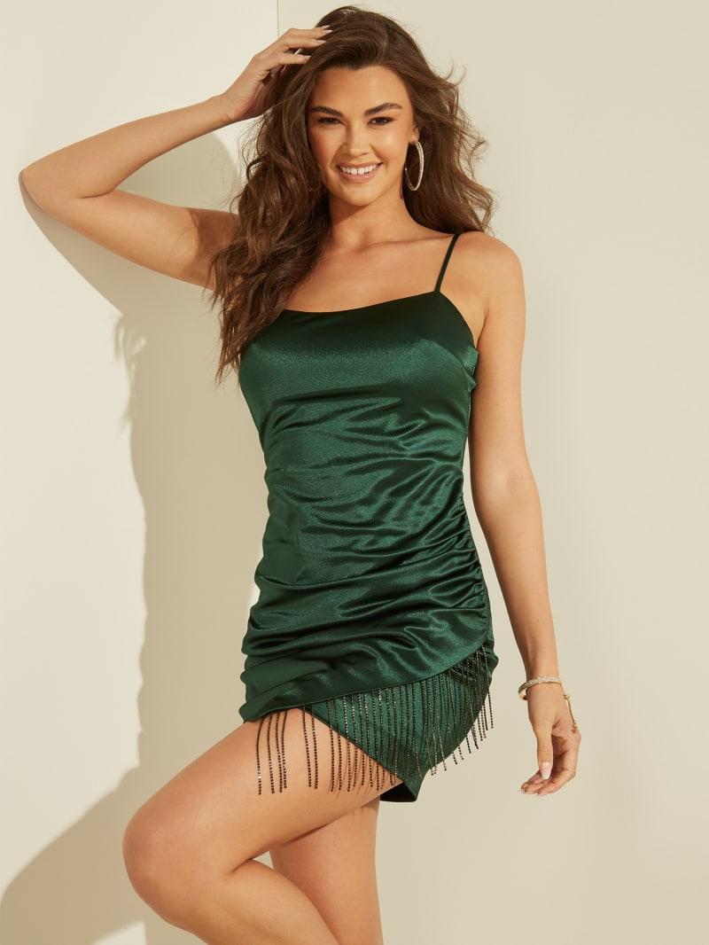 Lizz Fringe Dress
