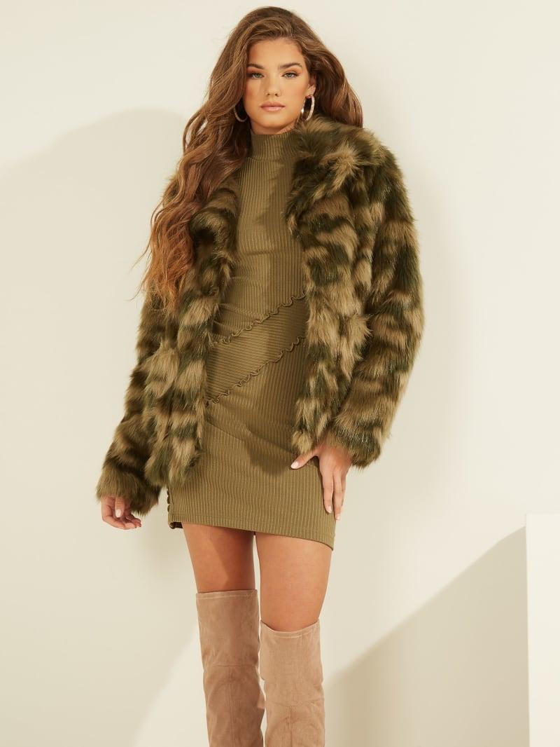 Tamie Faux Fur Jacket