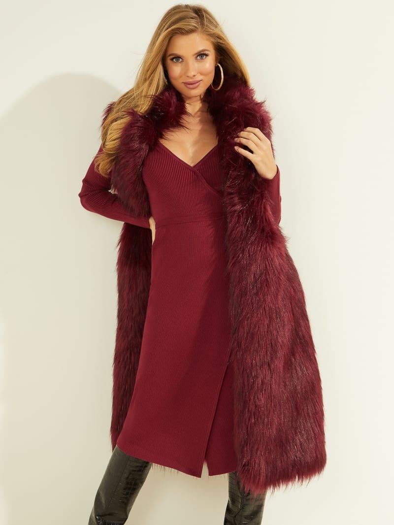 Luscious Faux Fur Vest