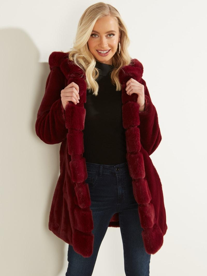 Midnight Faux Fur Jacket
