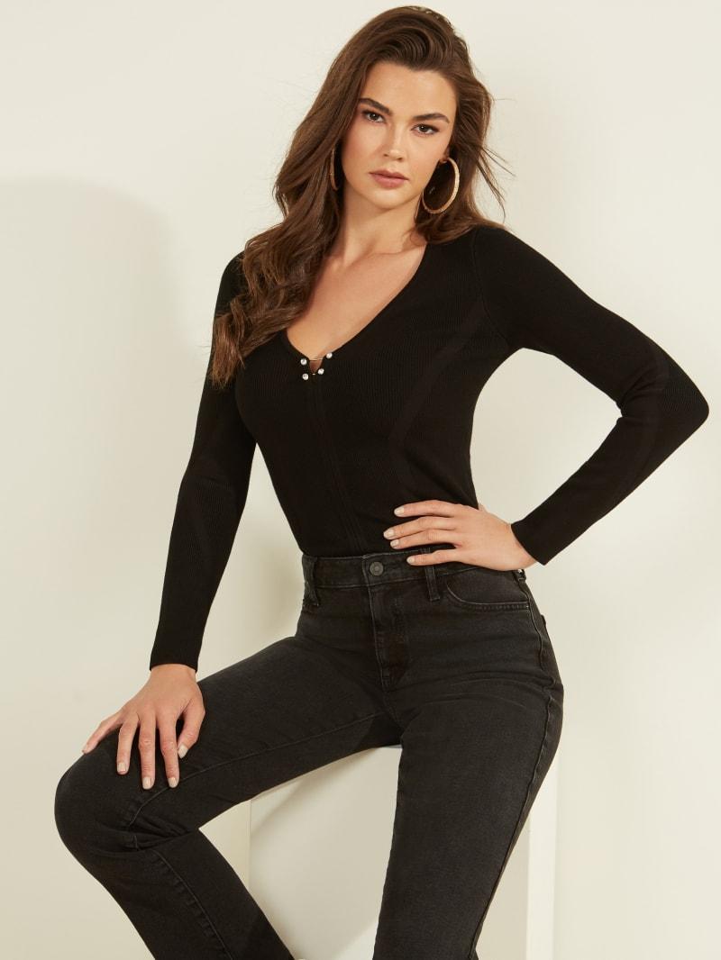 Irina Pierced Sweater
