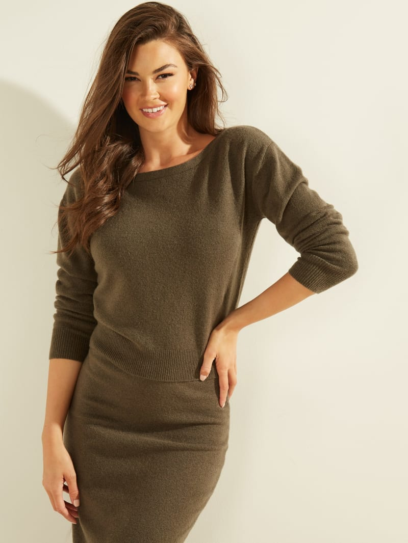 Tanya Boat Neck Sweater