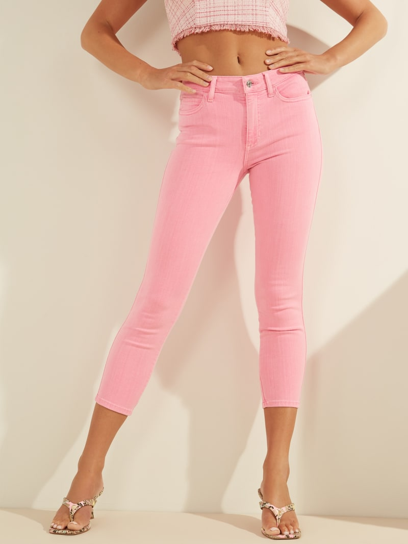 1981 High-Rise Cropped Skinny Jeans