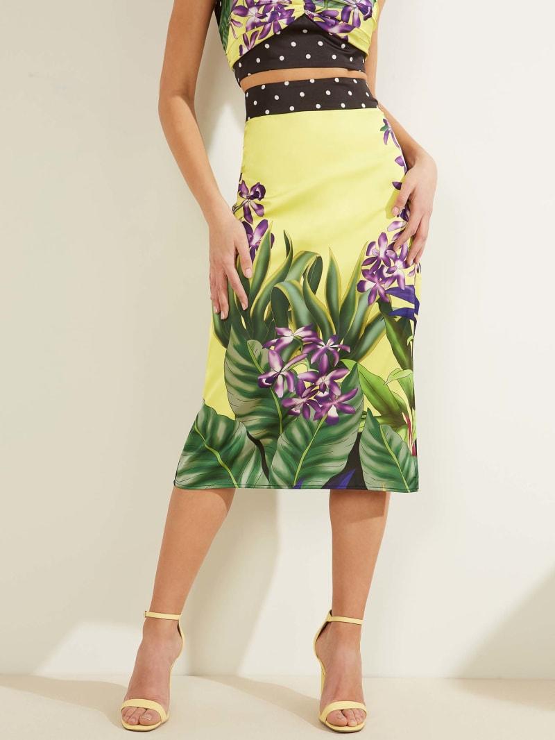 Orchid Midi Skirt