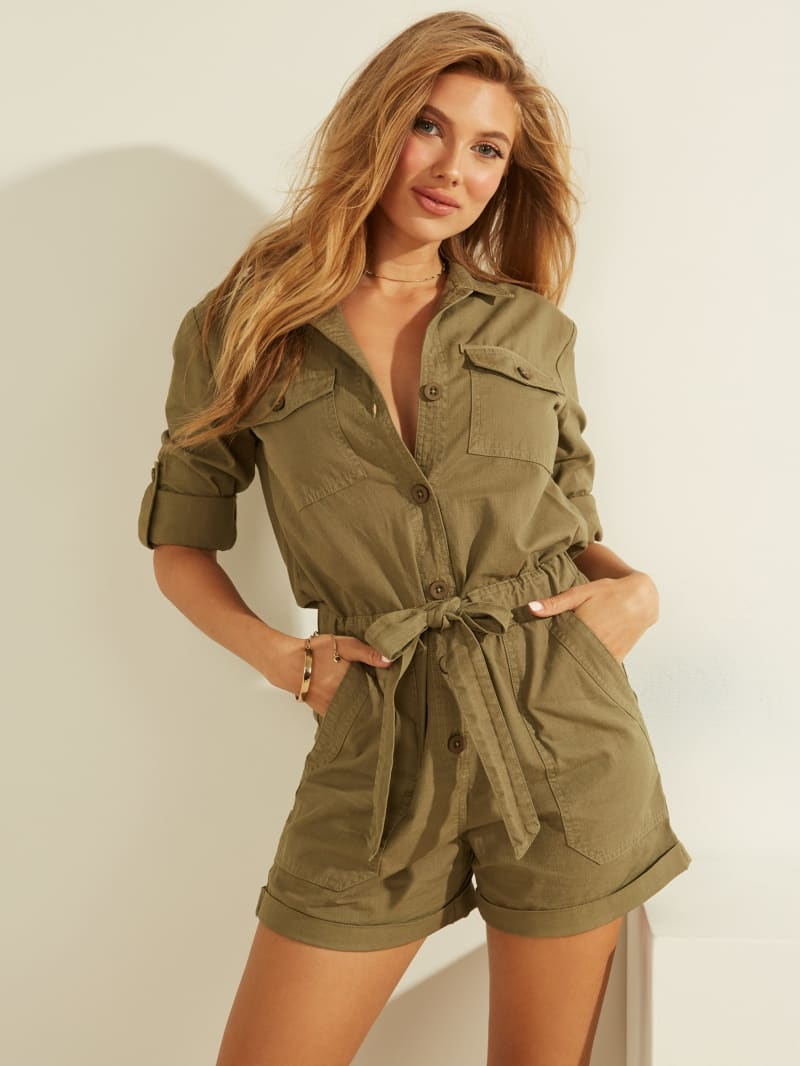 Lydia Long-Sleeve Romper
