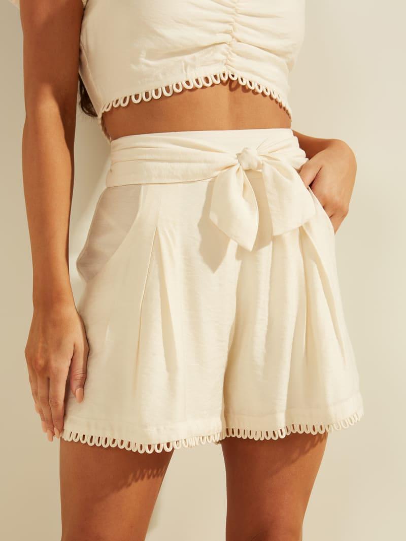 Mayble Tie-Front Shorts