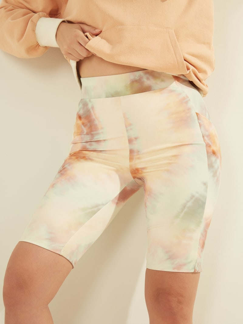 Sohara Tie-Dye Biker Shorts