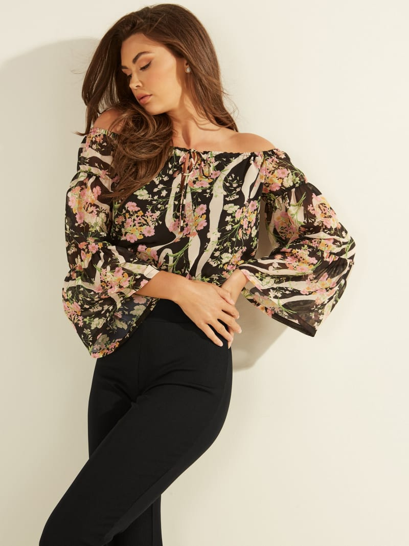 Silia Off-the-Shoulder Top