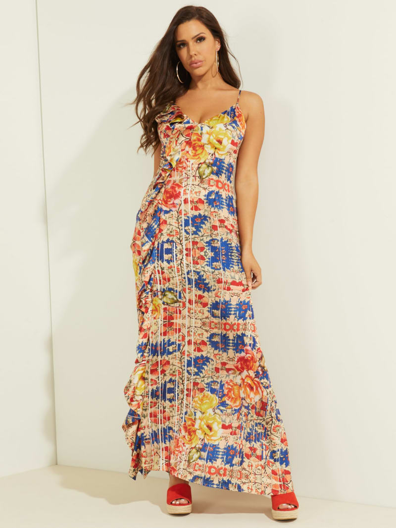 Arianne Ruffled Maxi Dress
