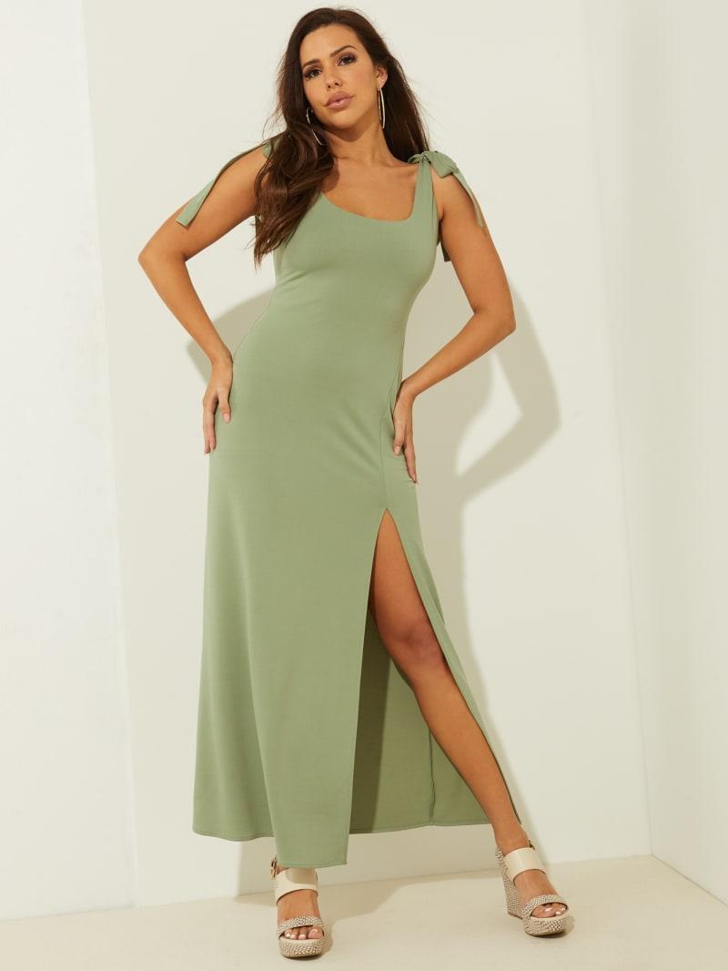 Tessa Shoulder Tie Maxi Dress