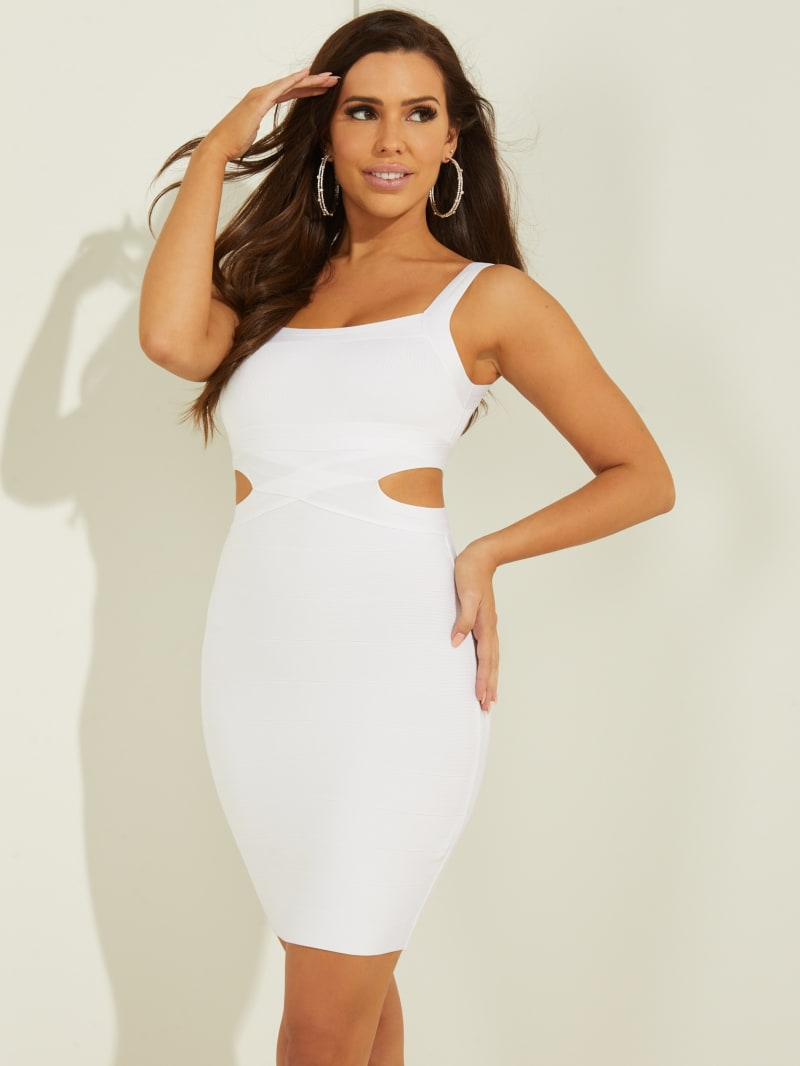 Alessia Cutout Bandage Dress