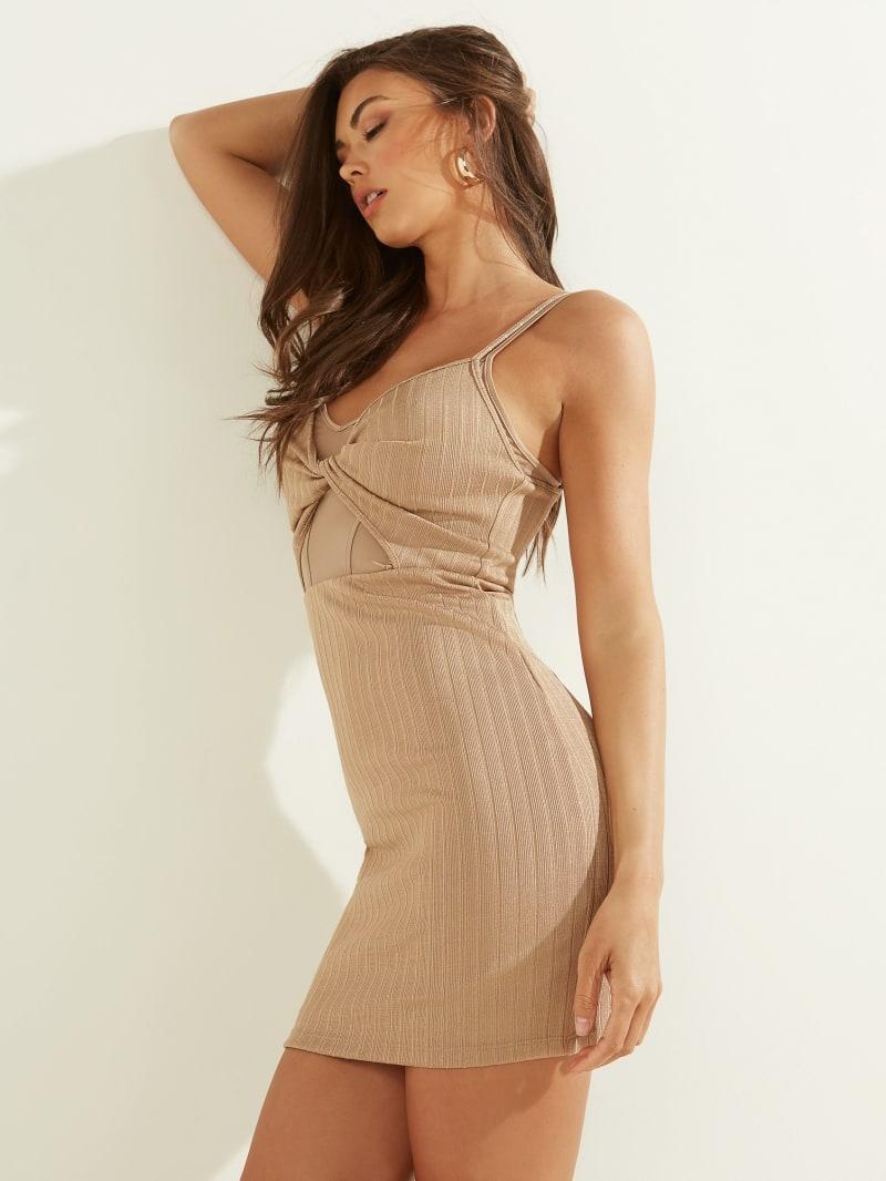 Isabeli Twist-Front Dress