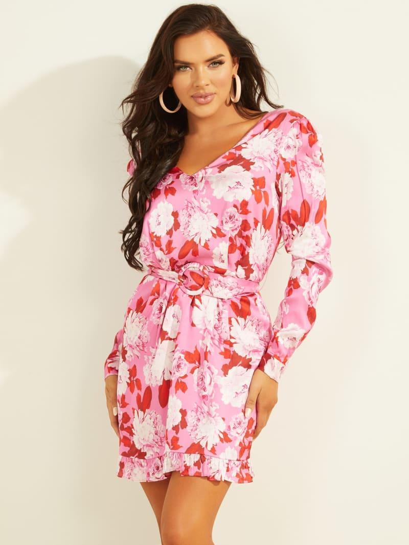 Leena Long-Sleeve Dress