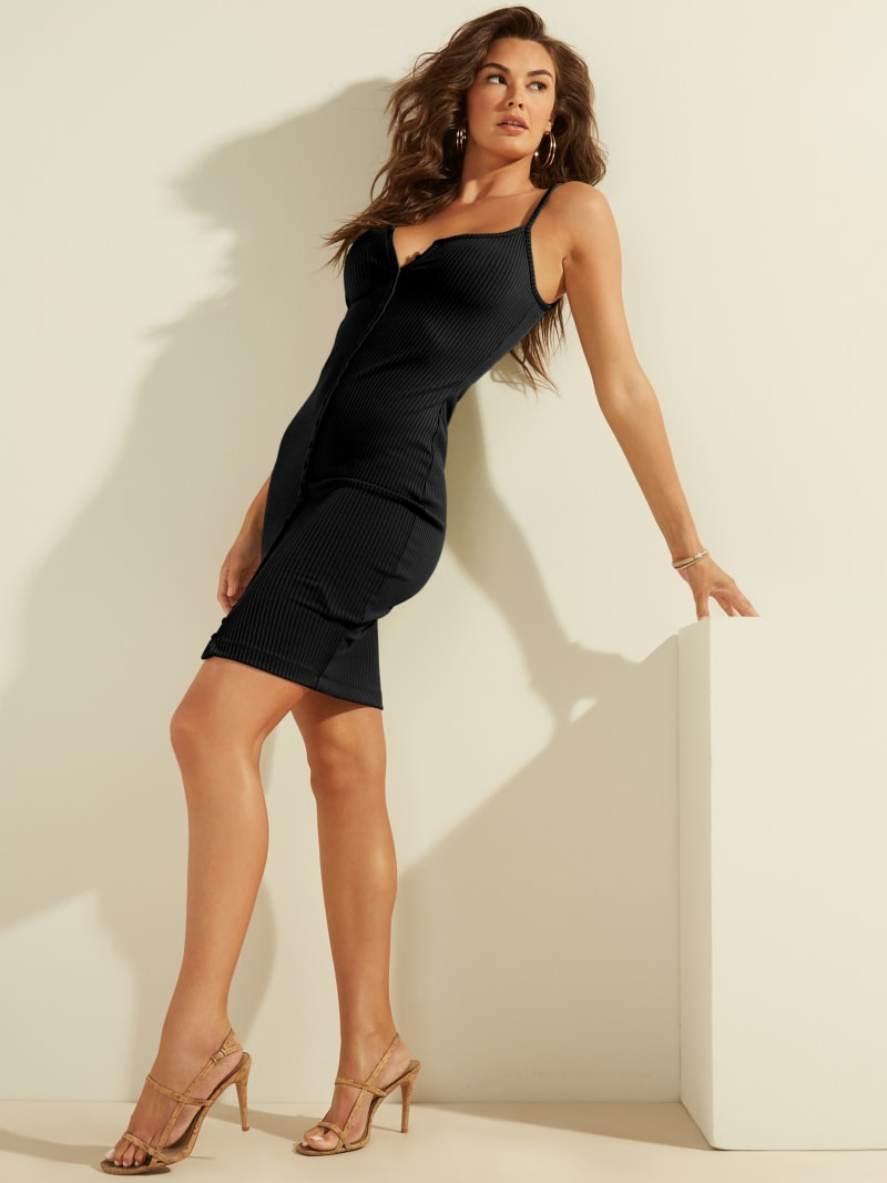 Kandy Sleeveless Ribbed Dress