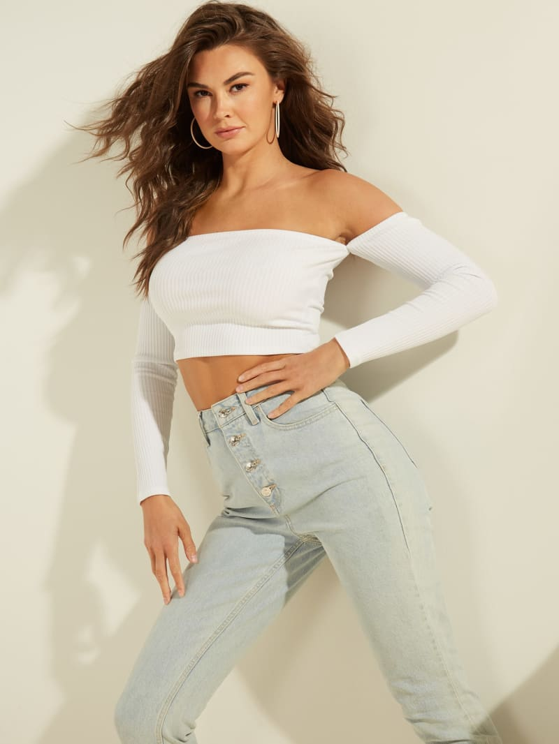 Candy Off-the-Shoulder Top