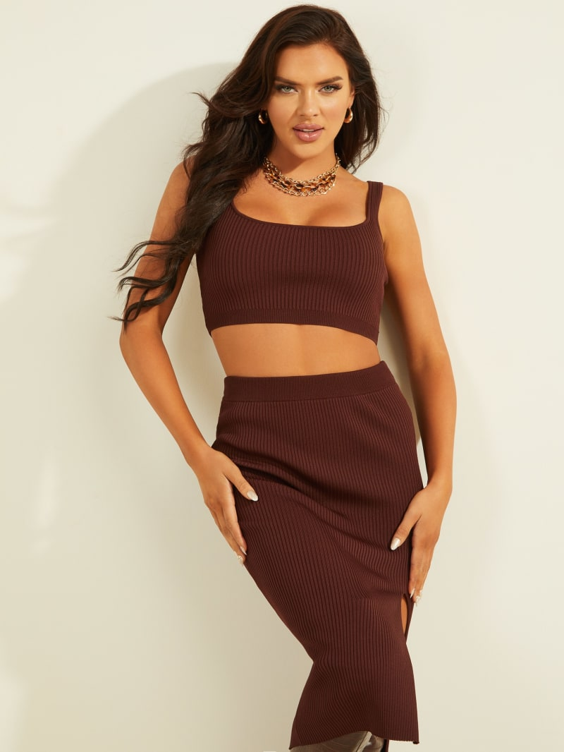 Kalani Cropped Sleeveless Sweater