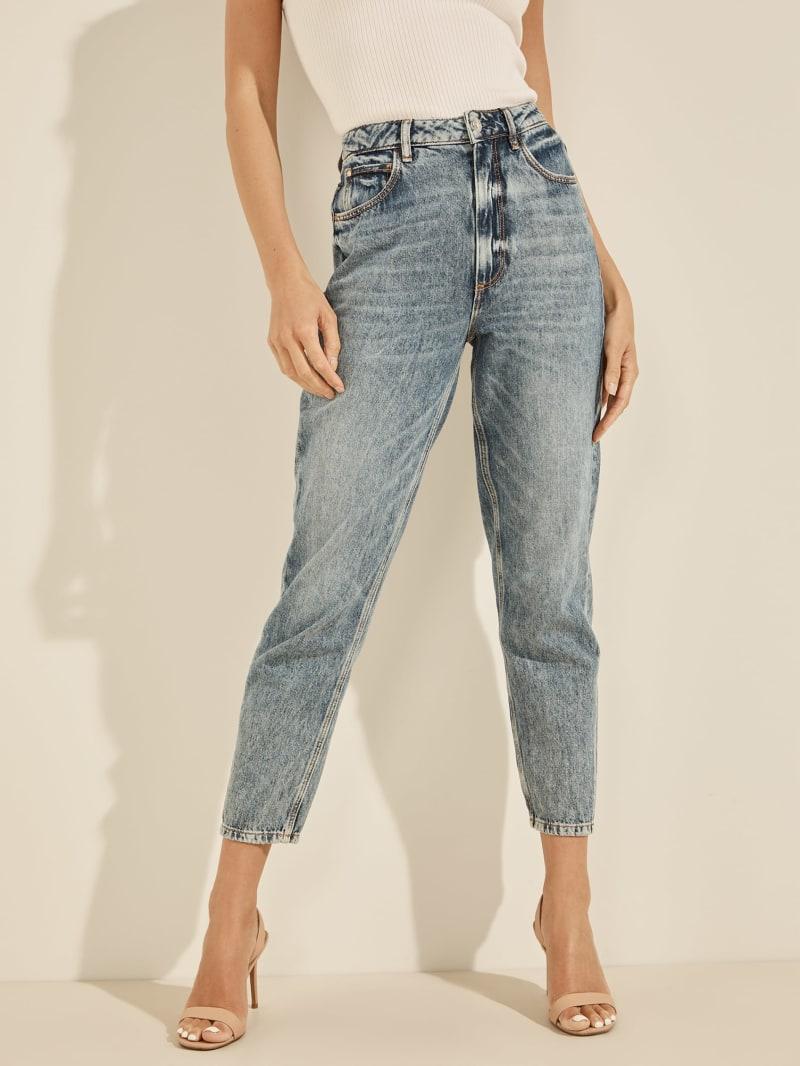 Rose Pocket Mom Jeans
