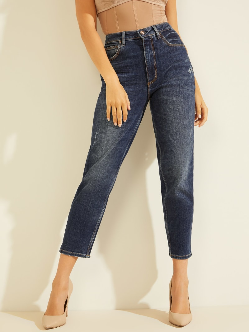 Eco Super-High Rise Mom Jeans