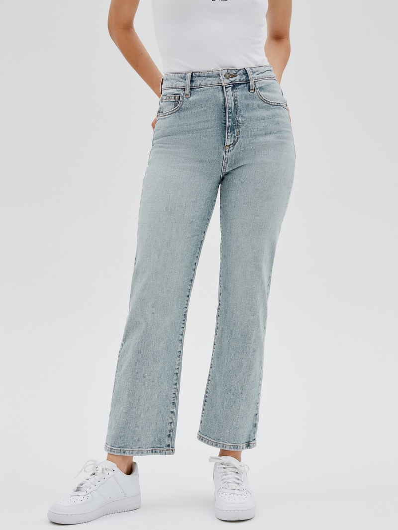GUESS Originals Cropped Mom Jeans