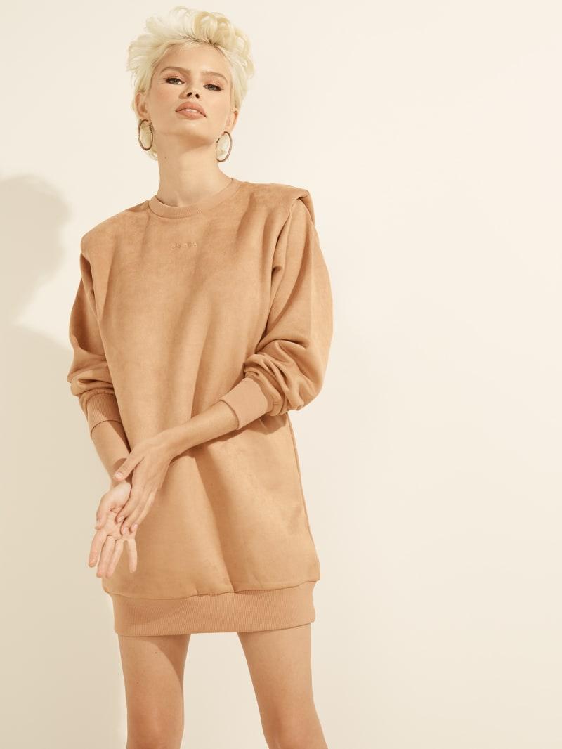 Carina Faux-Suede Dress