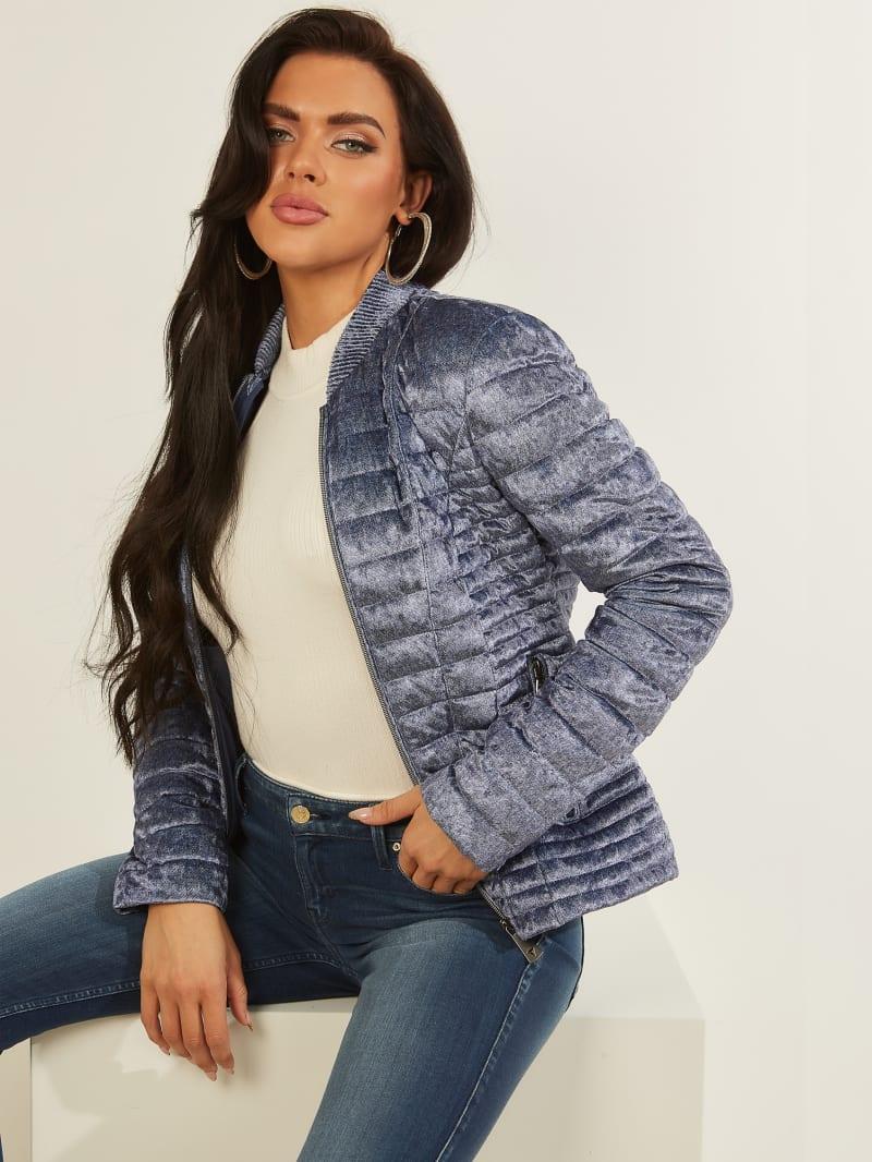 Vera Velvet Quilted Jacket