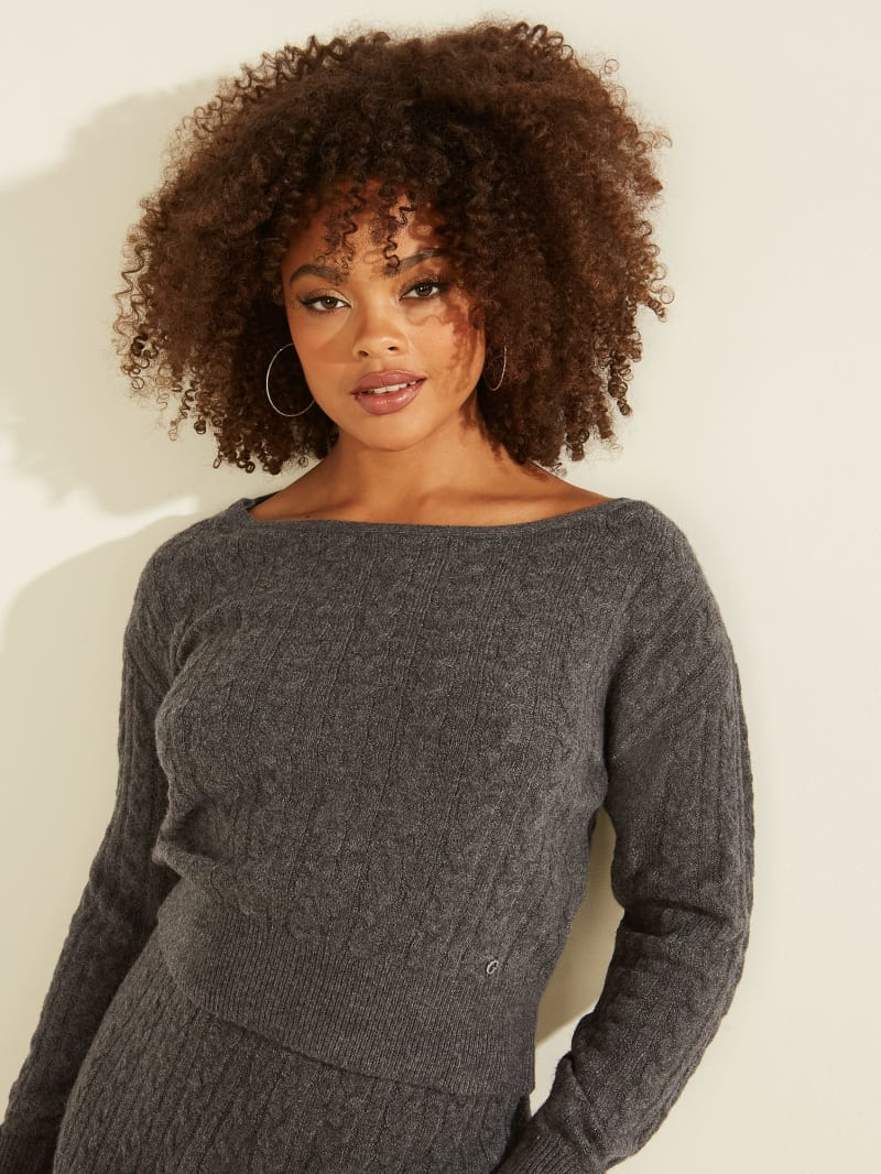 Tanya Cable Knit Sweater