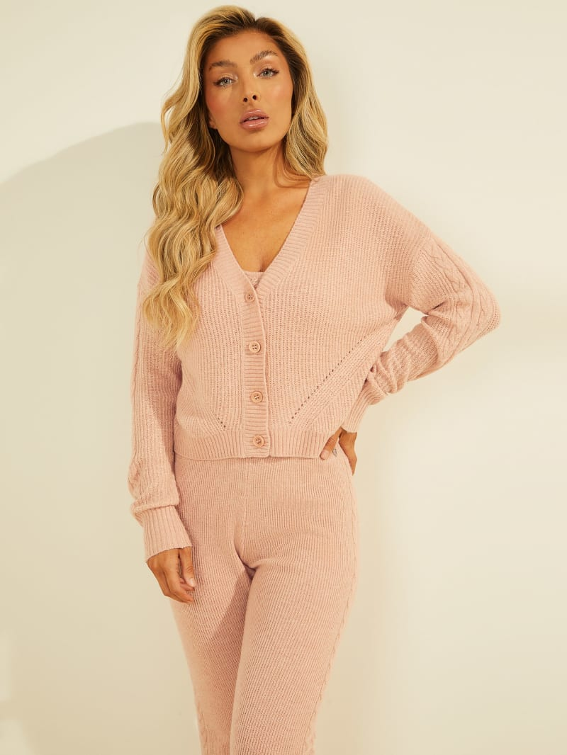 Serena Cable Knit Cardigan