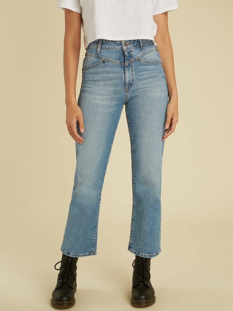 GUESS Originals Cropped Jeans