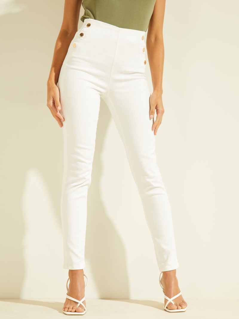 Ultra-High Rise Sailor Skinny Jeans