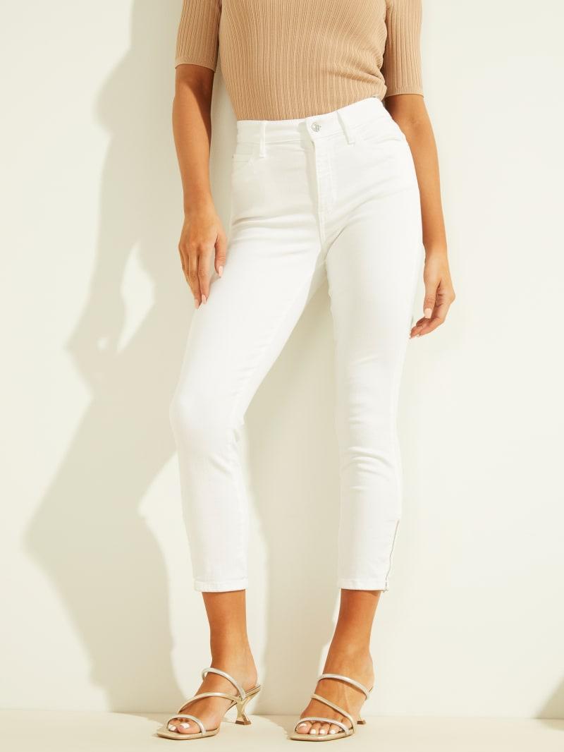 1981 Cropped High-Rise Zipper Skinny Jeans