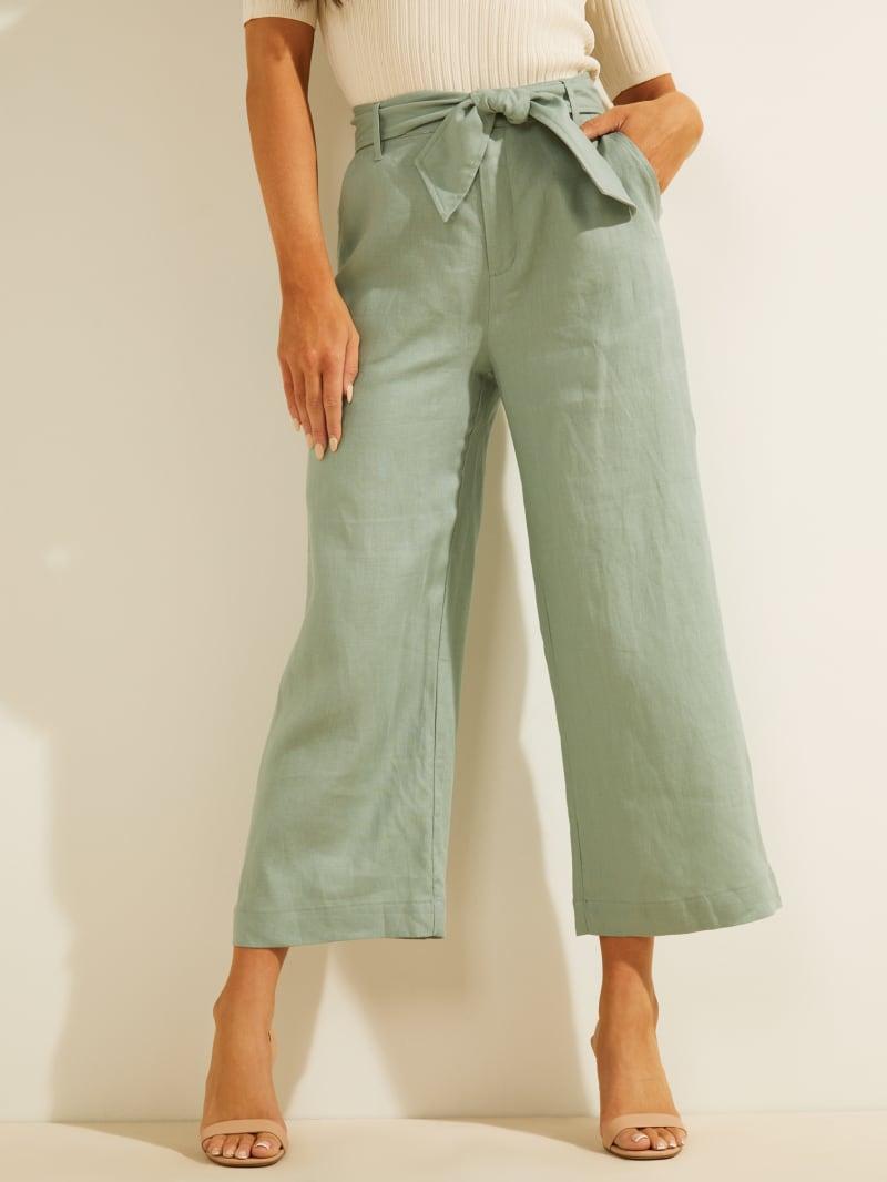 Eco Linen Tessa Culotte Pant