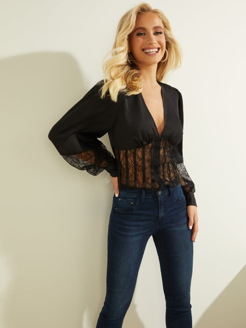 Amira Lace Top