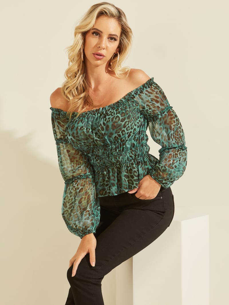 Eco Simi Off-the-Shoulder Top