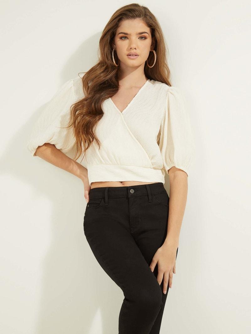 Lara Puff-Sleeve Top