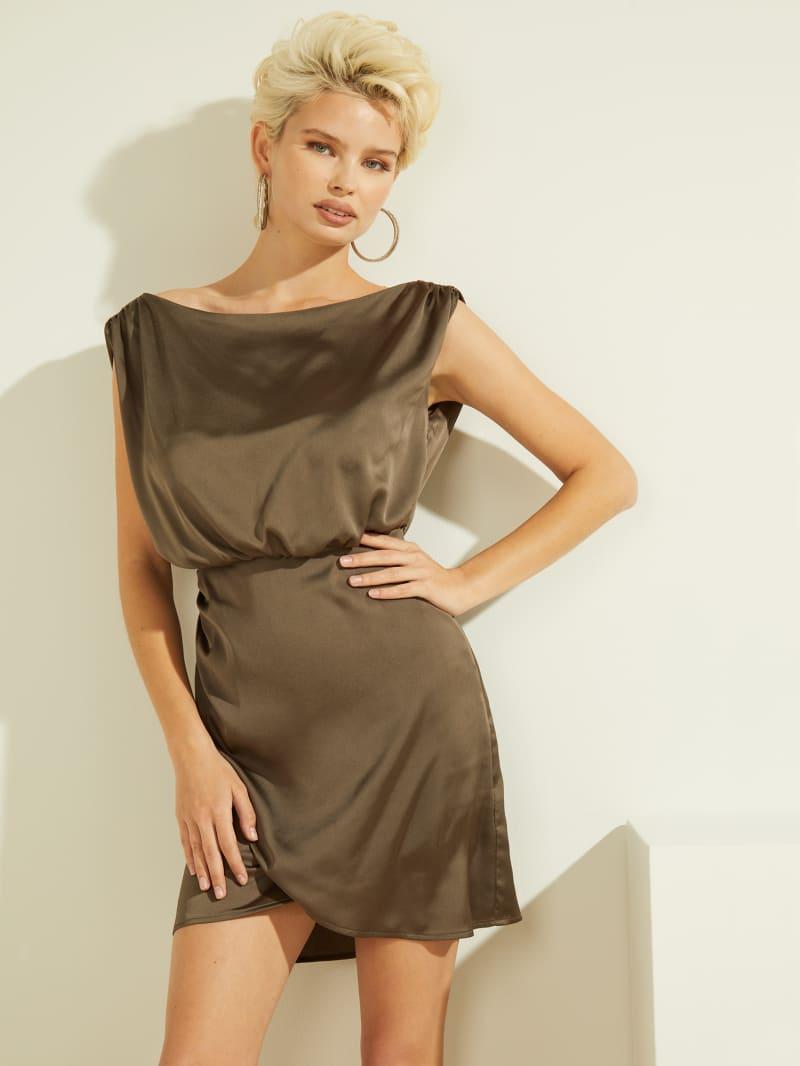 Eco Yonna Drape Dress
