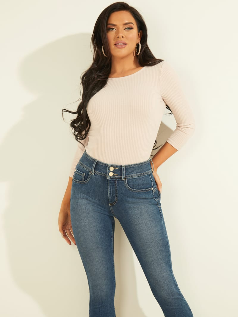 Eco Vivi Cut-Out Ribbed Top