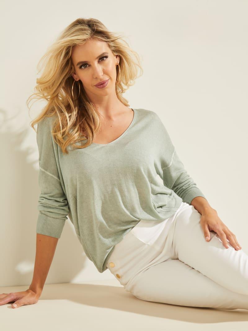 Sandra V-Neck Sweater